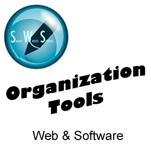 Sarah Writes Stories: Organization Tools - Web & Software