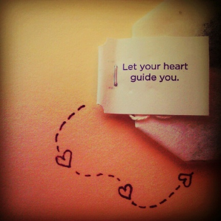 Let Your Heart Guide You by Elizabeth Ditty